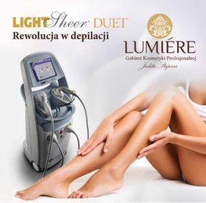 depilacja laserowa kielce light sheer duet kielce